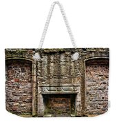 Craigsmillar Castle Fireplace Weekender Tote Bag