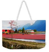 Cranberry Field Workers Weekender Tote Bag