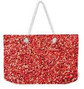 Cranberry Harvest 3 Weekender Tote Bag