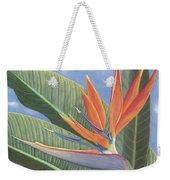 Crane Flower Paradise Weekender Tote Bag