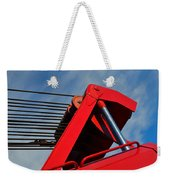 Crane - Photography By William Patrick And Sharon Cummings Weekender Tote Bag
