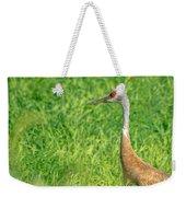 Crane Profile Weekender Tote Bag