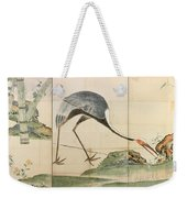 Cranes Pines And Bamboo Weekender Tote Bag