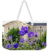 Cranesbill Blue Geranium Weekender Tote Bag