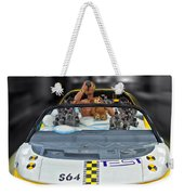 Crash Dummy Bear Weekender Tote Bag