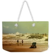 Crash Of The Waves Weekender Tote Bag