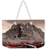 Crash Site Located Weekender Tote Bag