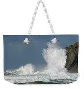 Crashing Surf Weekender Tote Bag