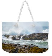Crashing Surf Weekender Tote Bag