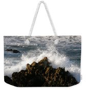 Crashing Wave Weekender Tote Bag
