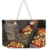 Crated Apples Weekender Tote Bag