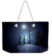 Crater Lake Midnight Oregon Weekender Tote Bag