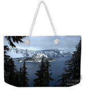Crater Lake Oregon Weekender Tote Bag