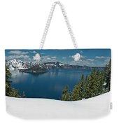 Crater Lake Panorama Weekender Tote Bag