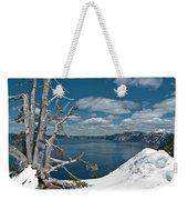 Crater Lake Tree Weekender Tote Bag