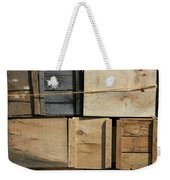 Crates At The Orchard 2 Weekender Tote Bag