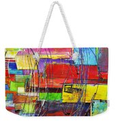 Crazy Abstract Weekender Tote Bag