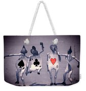 Crazy Aces Weekender Tote Bag by Bob Orsillo
