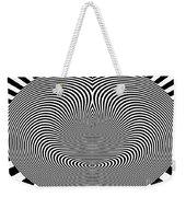 Crazy Circles Weekender Tote Bag