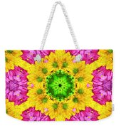 Crazy Daises - Spring Flowers - Bouquet - Gerber Daisy Wanna Be - Kaleidoscope 1 Weekender Tote Bag