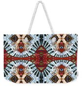 Crazy Fingers Piano Tiled Weekender Tote Bag
