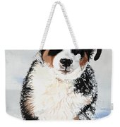 Crazy For Snow Weekender Tote Bag