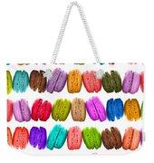 Crazy Macarons  Weekender Tote Bag