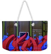 Crazy Red Weekender Tote Bag
