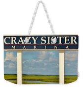 Crazy Sister Marina Weekender Tote Bag
