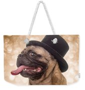 Crazy Top Dog Weekender Tote Bag