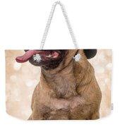 Crazy Top Dog Weekender Tote Bag