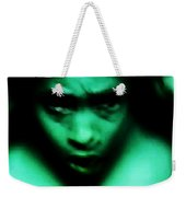 Crazy With Green Weekender Tote Bag