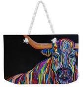 Crazy Woman Bull Weekender Tote Bag