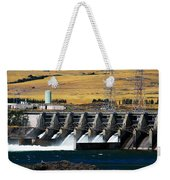 The Dalles Dam Weekender Tote Bag