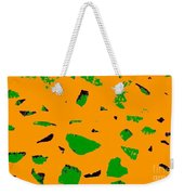 Creamsicle Orange Abstract Weekender Tote Bag