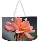Creamy Peach Rose Weekender Tote Bag