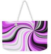 Creamy Pink Graphic Weekender Tote Bag