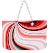Creamy Red Graphic Weekender Tote Bag