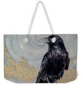 Creation - A Raven Weekender Tote Bag