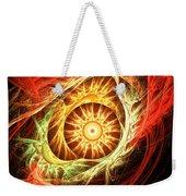 Creation Of Sun Weekender Tote Bag by Lourry Legarde