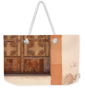 Creatively Covering Weekender Tote Bag