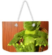 Creature From The Groovy Lagoon Weekender Tote Bag