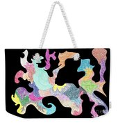 Creature Of Color Weekender Tote Bag