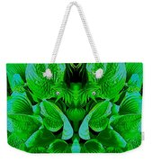 Creatures In The Green Fauna Weekender Tote Bag