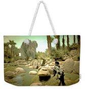 Creek At Jackalope Ranch Palm Springs Weekender Tote Bag