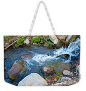 Creek Entering Andreas Canyon In Indian Canyons-ca Weekender Tote Bag