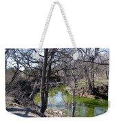 Creek In North Texas Weekender Tote Bag