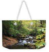 Creek In The Woods Weekender Tote Bag