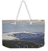 Creeping Fog Weekender Tote Bag