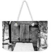 Creepy Cabin In The Woods Weekender Tote Bag by Edward Fielding